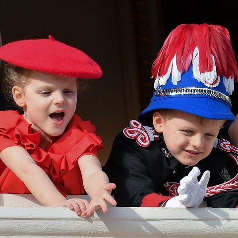 Prinzessin Gabriella und Erbprinz Jacques feiern den Nationalfeiertag Monacos