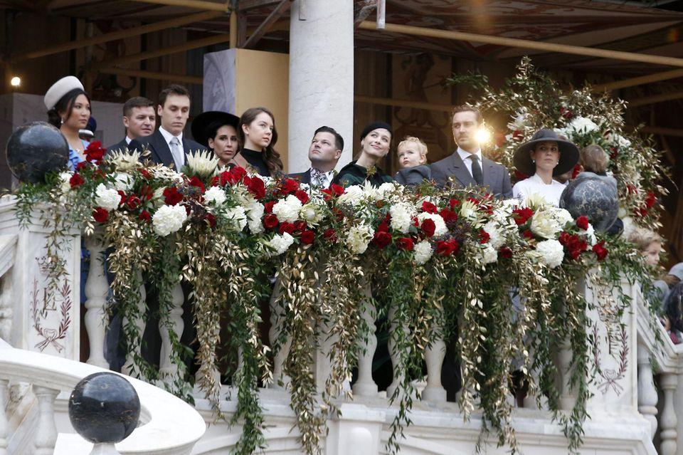 Die Grimaldis feierten am 19. November den Nationalfeiertag von Monaco