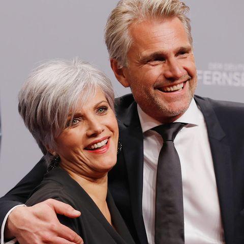 Birgit Schrowange und Frank Spothelfer