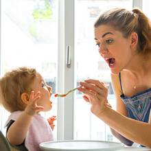 Nina Bott und Tochter Luna