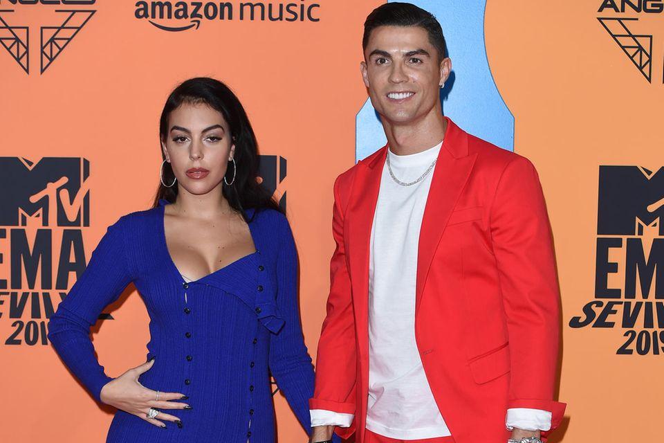Georgina Rodriguez + Cristiano Ronaldo