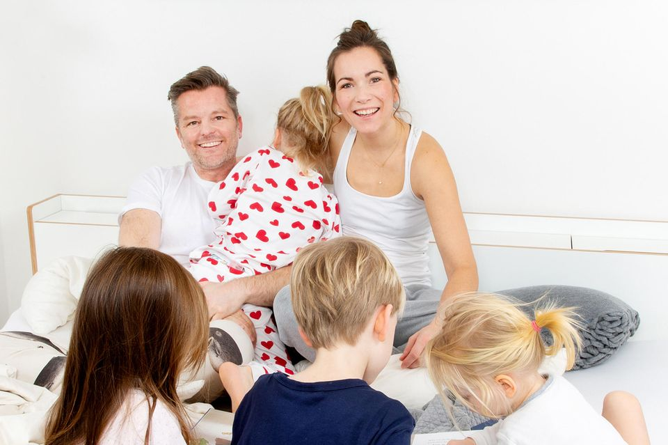 Eine Familie wie jede andere? Keineswegs! André und Shari Dietz mit ihren vier Kindern