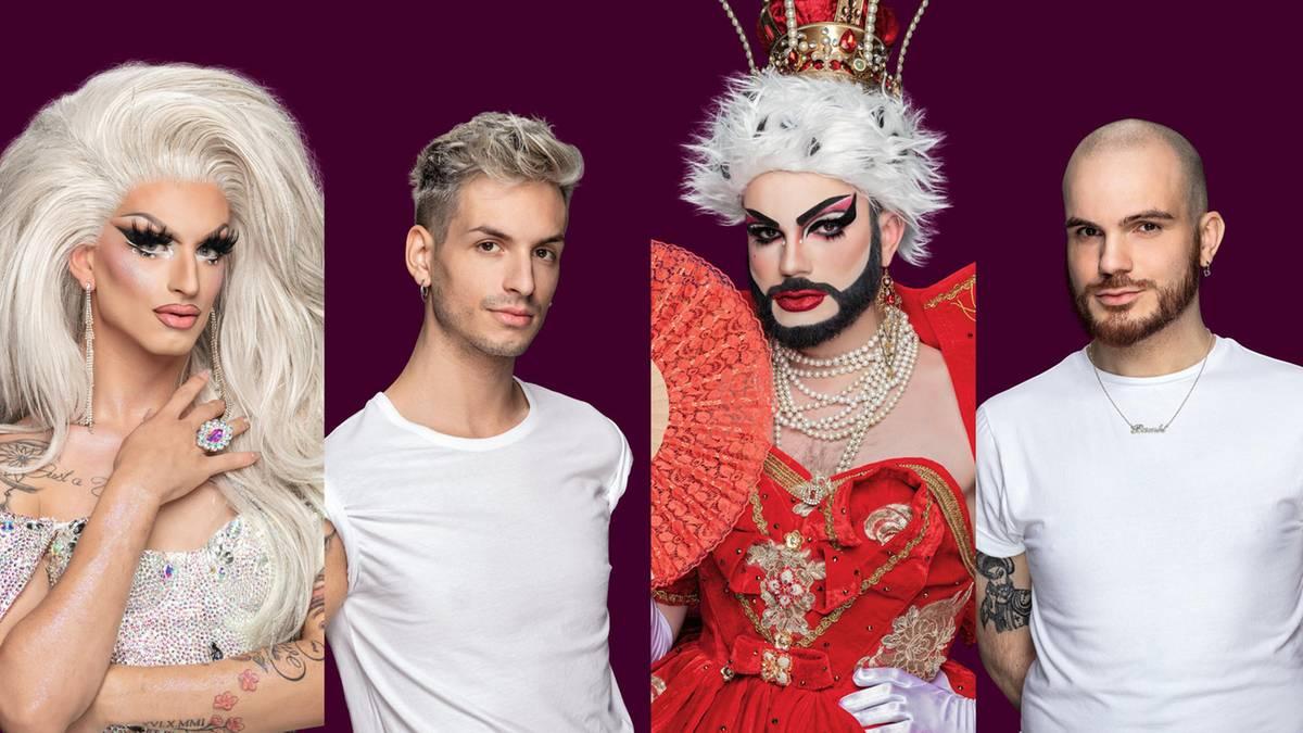 Die Drag Queens im Vorher-Nachher-Check
