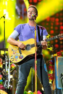 Coldplay Frontmann Chris Martin