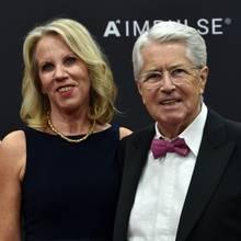 Britta Gessler und Frank Elstner