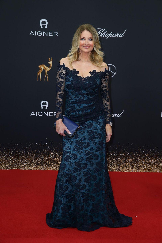Frauke Ludowig setzt auf schlichte Eleganz.