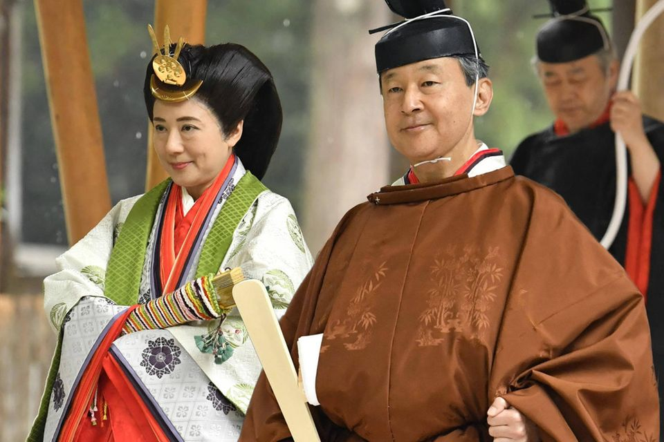 Kaiser Naruhito: Die besten Bilder seines Wegs zur Kaiserwürde