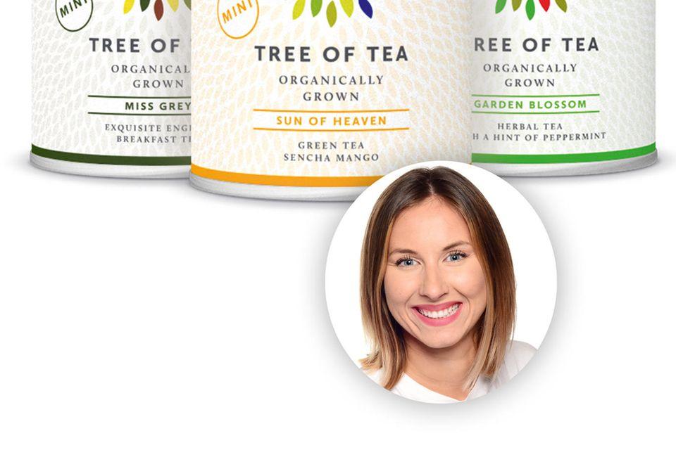 Einen (im) Tee haben? Geht bei Kollegin Lara immer.