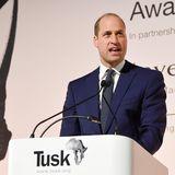 """21. November 2019  Prinz William muss als Schirmherr den Auftritt bei den """"Tusk Awards 2019"""" in London ohne Herzogin Catherine meistern. Die musste den Termin kurzfristig absagen."""