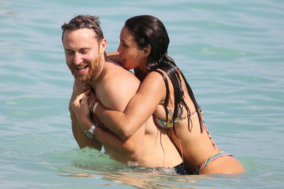 David Guetta und Jessica Ledon