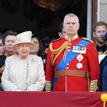 Queen Elizabeth + Prinz Andrew