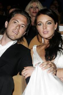 Harry Morton und Lindsay Lohan