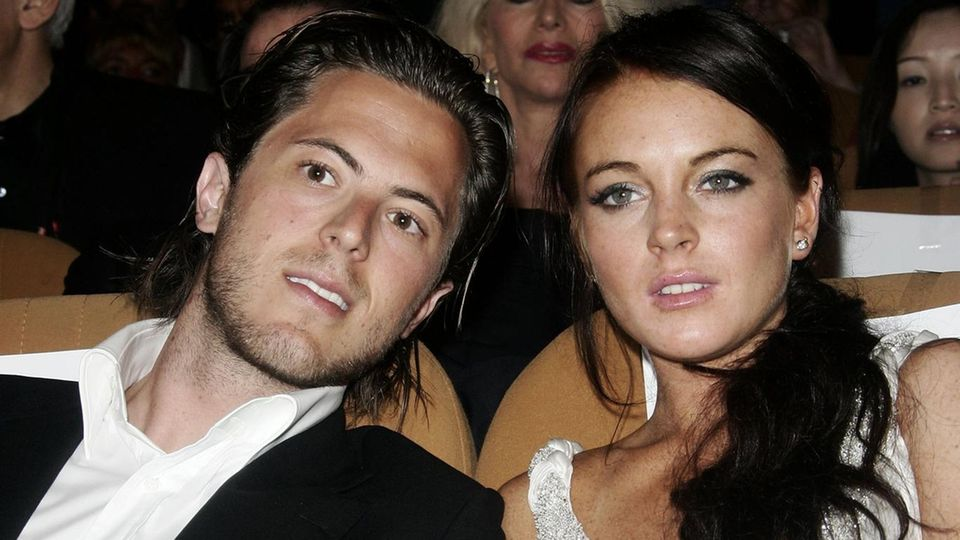 Harry Morton und Lindsay Lohan