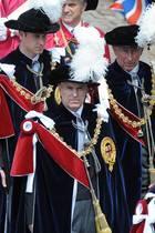 Prinz William, Prinz Andrew und Prinz Charles