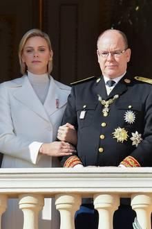 Fürstin Charlène, Fürst Albert
