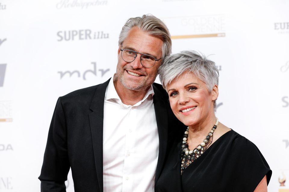 Frank Spothelfer und Birgit Schrowange