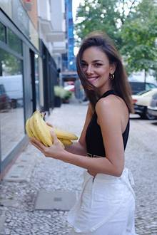 Janina Uhse liebt Food-Trends