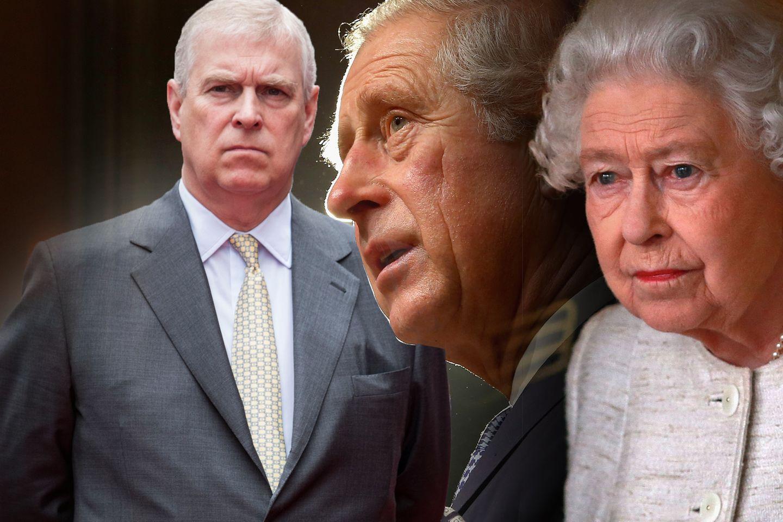Prinz Andrew, Prinz Charles, Queen Elizabeth