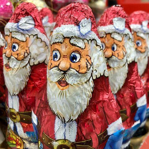 Brite findet zeigefreudigen Schoko-Weihnachtsmann bei Tesco (Symbolbild)