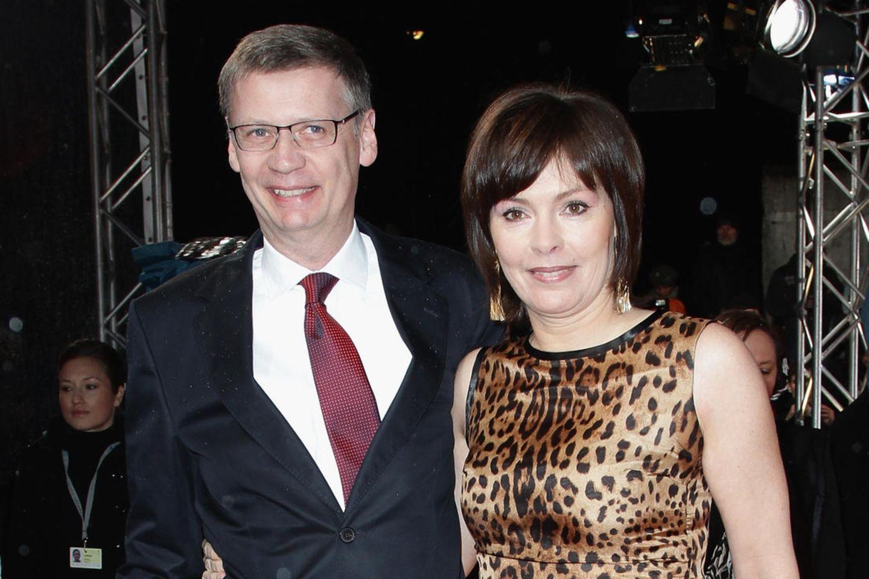 Günther Jauch & Ehefrau Thea