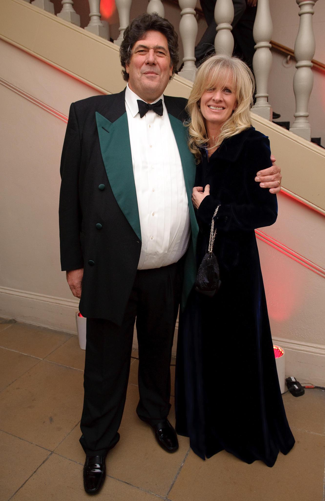 Tim Hoare und seine Ehefrau im November 2009 zu Gast bei derRoyal Rajasthan Charity Gala.