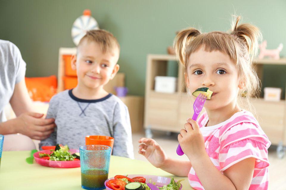 In einem britischen Kindergarten gibt es bald nur noch veganes Essen (Symbolbild)