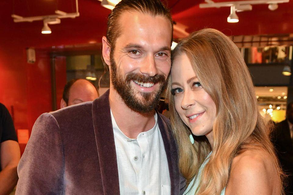 Jenny Elvers und Simon Lorinser im Juni 2019