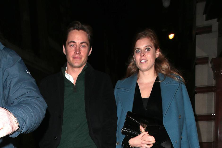 Edoardo Mapelli Mozzi und Prinzessin Beatrice am 26. November 2019 in London.