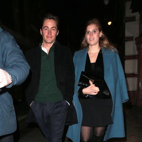 Edoardo Mapelli Mozzi und Prinzessin Beatrice am 26. November 2019 in London.