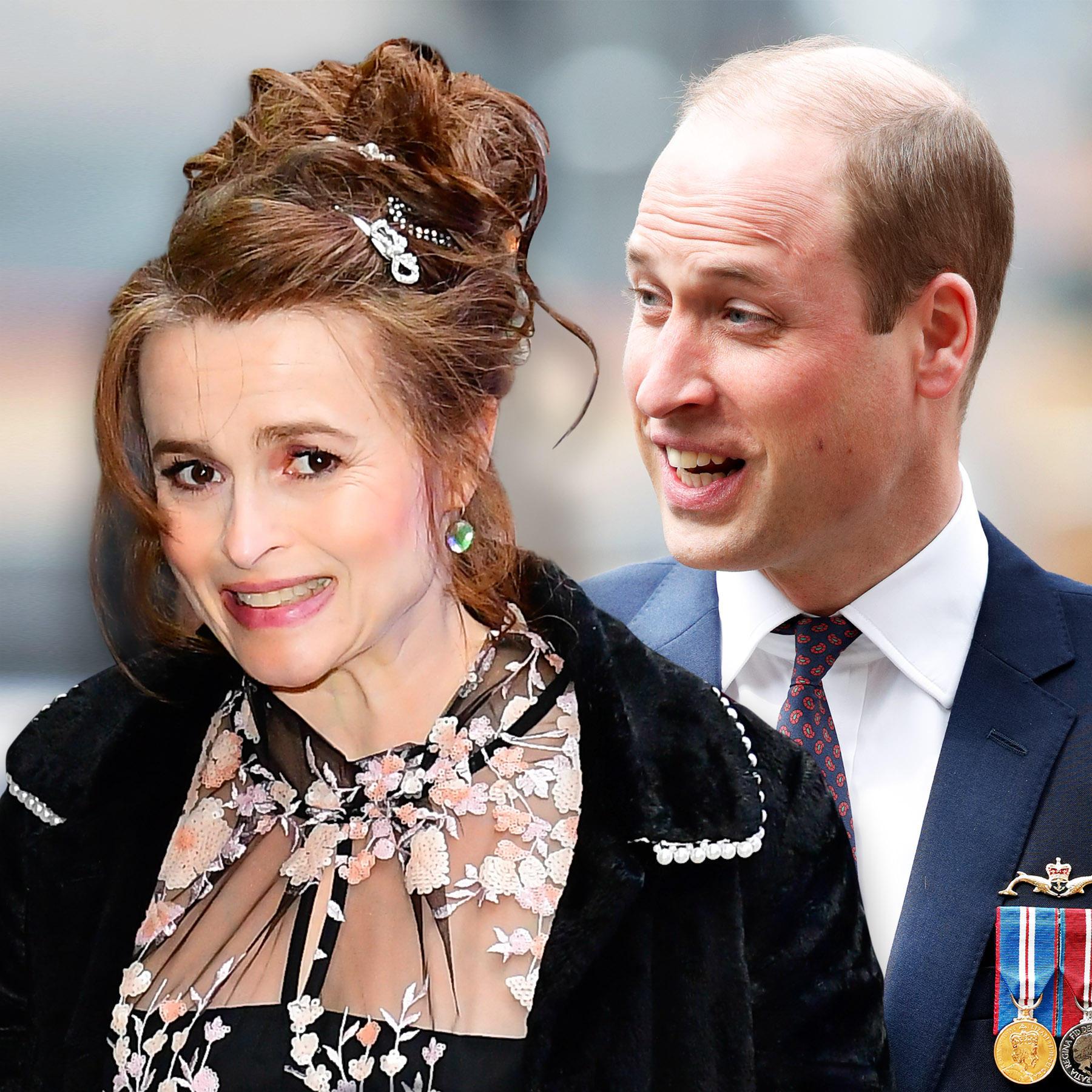 Helena Bonham Carter, Prinz William