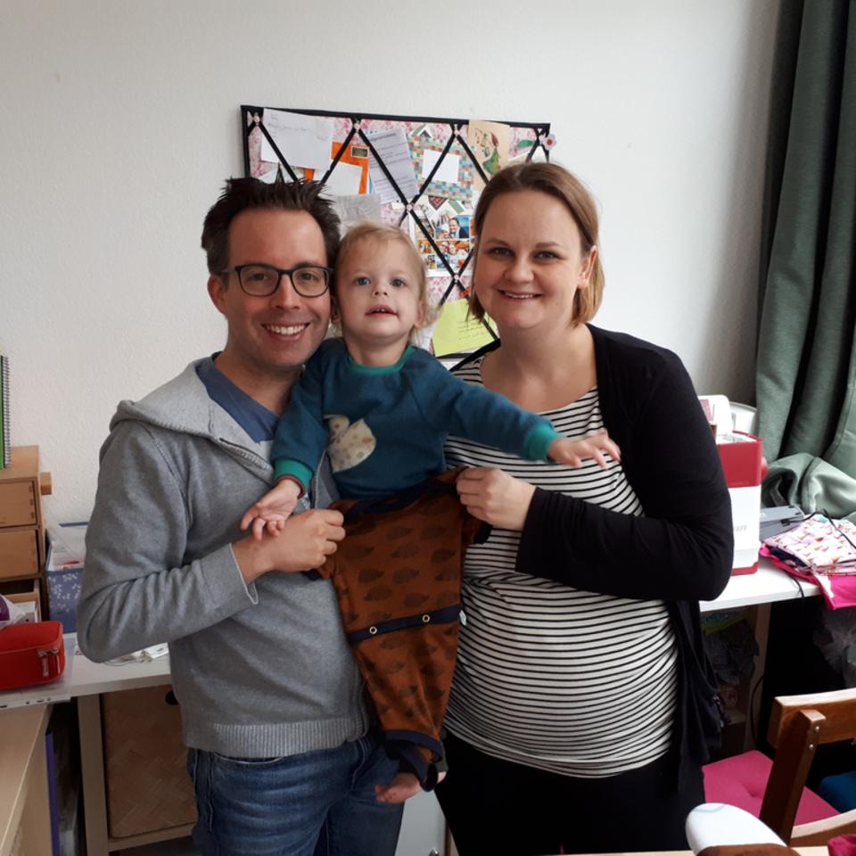 einzigNaht wurde vom Ehepaar Christian und Sandra Brunner für die besonderen Bedürfnisse vonTochter Laura gegründet.