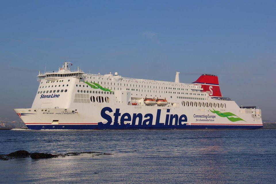 """Gewinnen Sie eine Fährfahrt mit der """"Stena Line"""" nach England."""