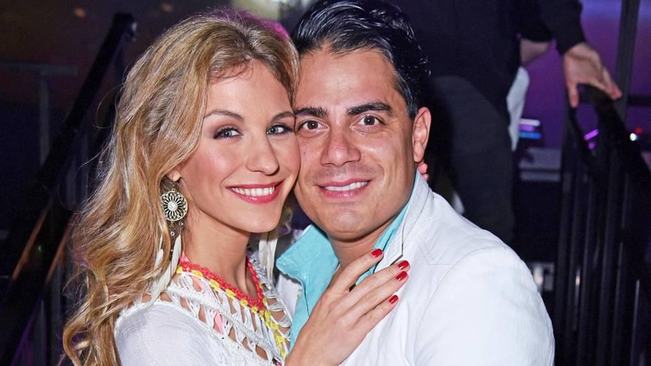 Silva Gonzalez mit seiner Freundin Stefanie Schanzleh