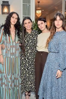Demi Moore und ihre Töchter Tallulah, Scout und Rumer