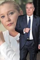 Virginia Roberts und Prinz Andrew