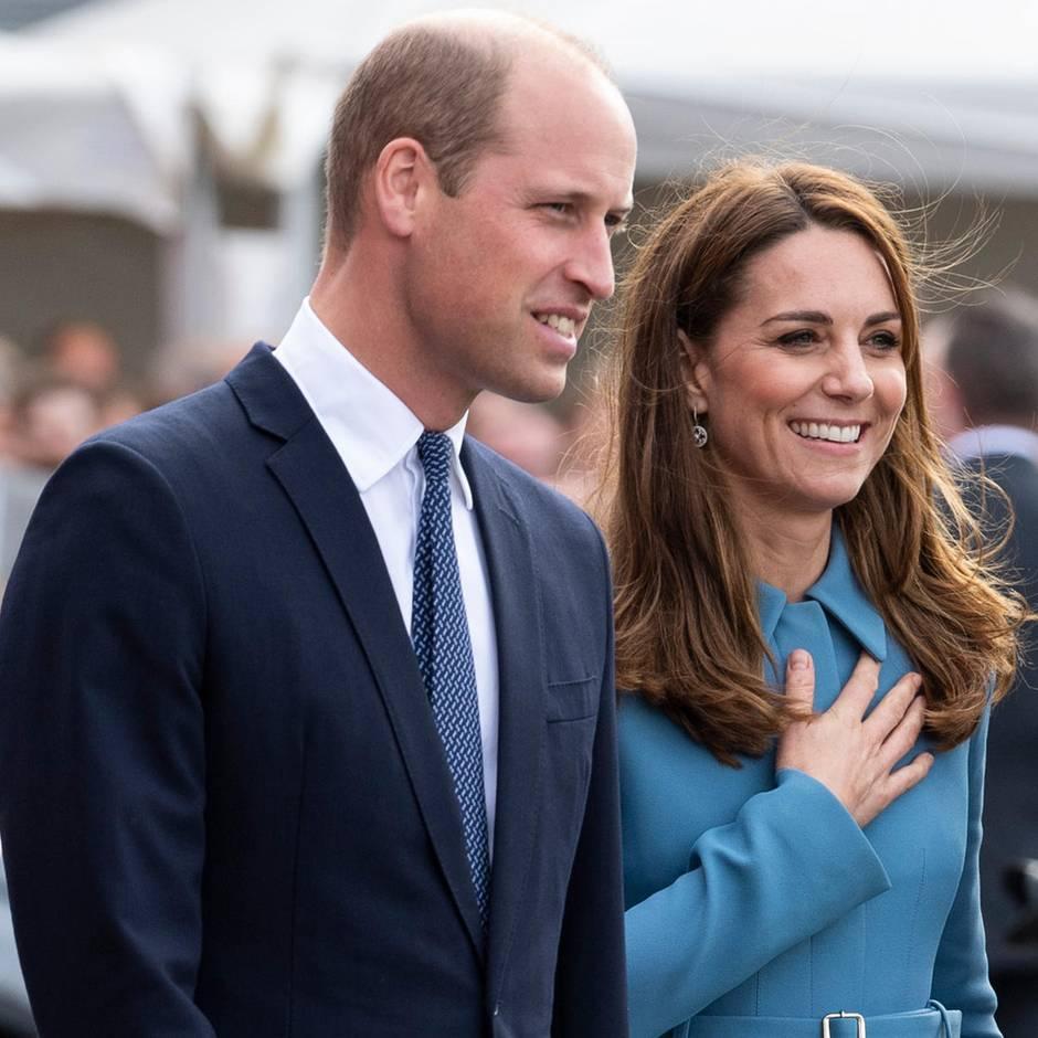 Auftritt im Palast im Namen von Queen Elizabeth