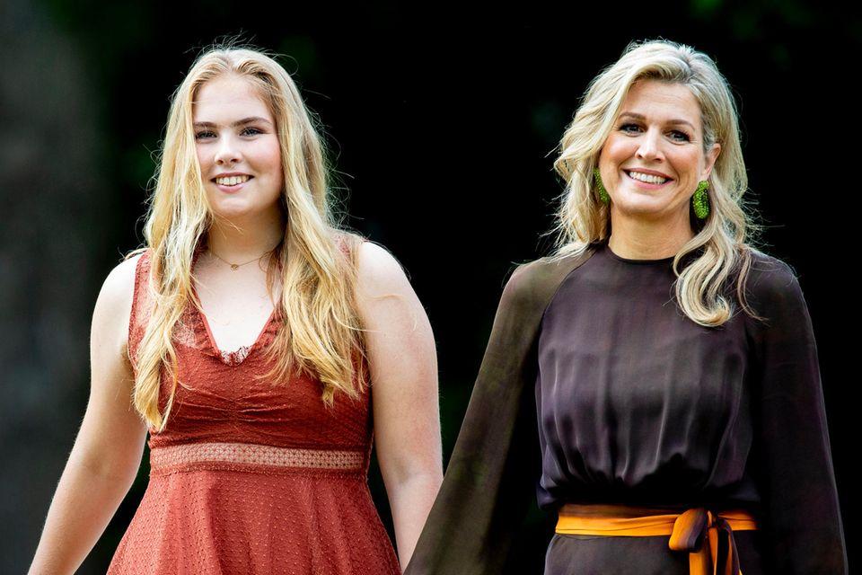 Tolles Mutter-Tochter-Duo: Königin Máxima und Prinzessin Amalia verstehen sich hervorragend.