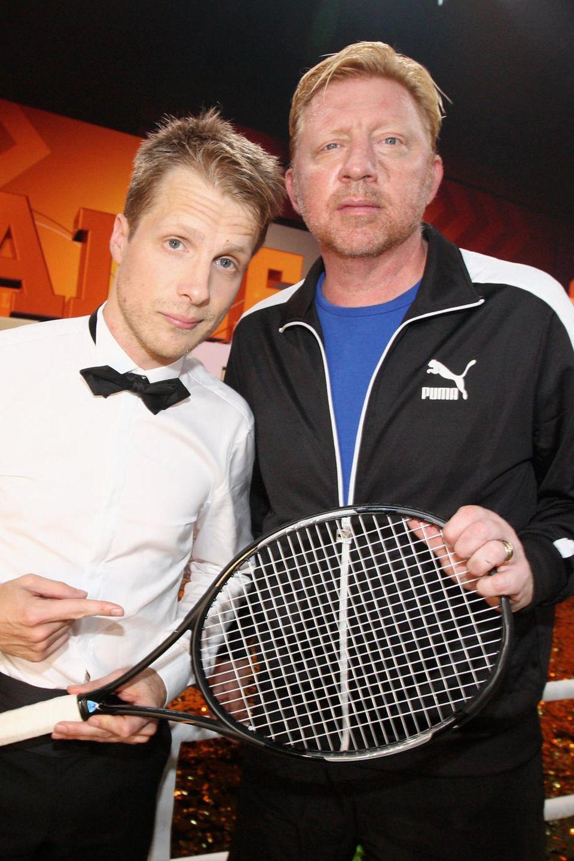 Oliver Pocher und Boris Becker