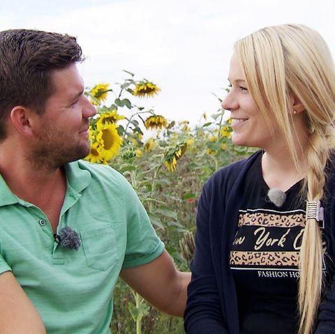 """Michael und Carina von """"Bauer sucht Frau"""""""