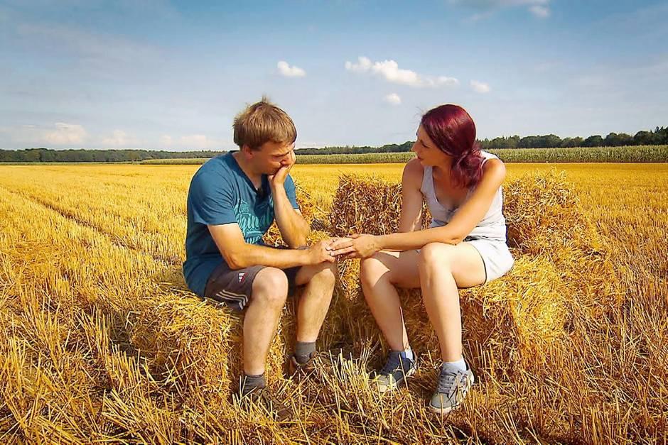 """Christopher und Jenny von """"Bauer sucht Frau"""""""