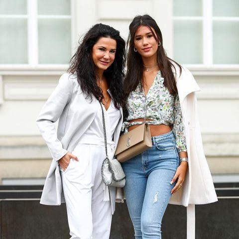 Mariella Ahrens und Tochter Isabella Faber-Castell