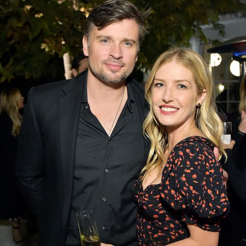 Tom Welling + Jessica Rose Lee