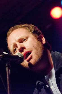 "Matthew Chipchase, Frontmann der Band ""Young Rebel Set"""