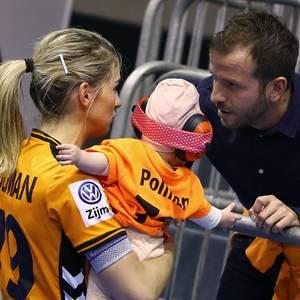 Estavana Polmann, Jesslynn van der Vaart und Rafael van der Vaart