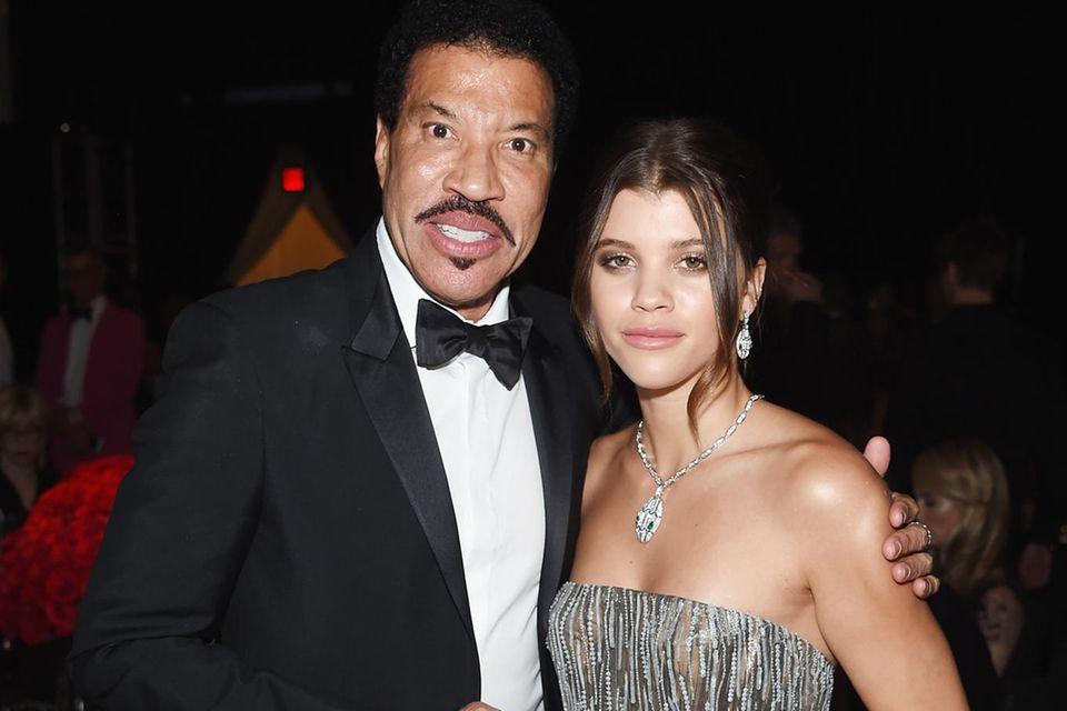 Lionel Richie +Tochter Sofia