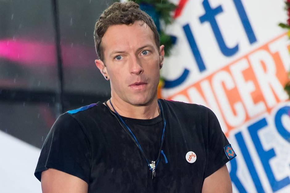 Coldplay-Frontmann Chris Martin