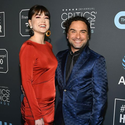 Alaina Meyer + Johnny Galecki