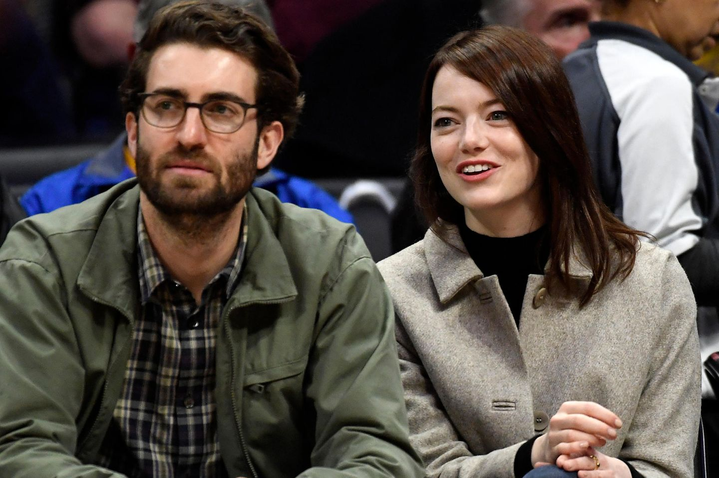 Dave McCary + Emma Stone
