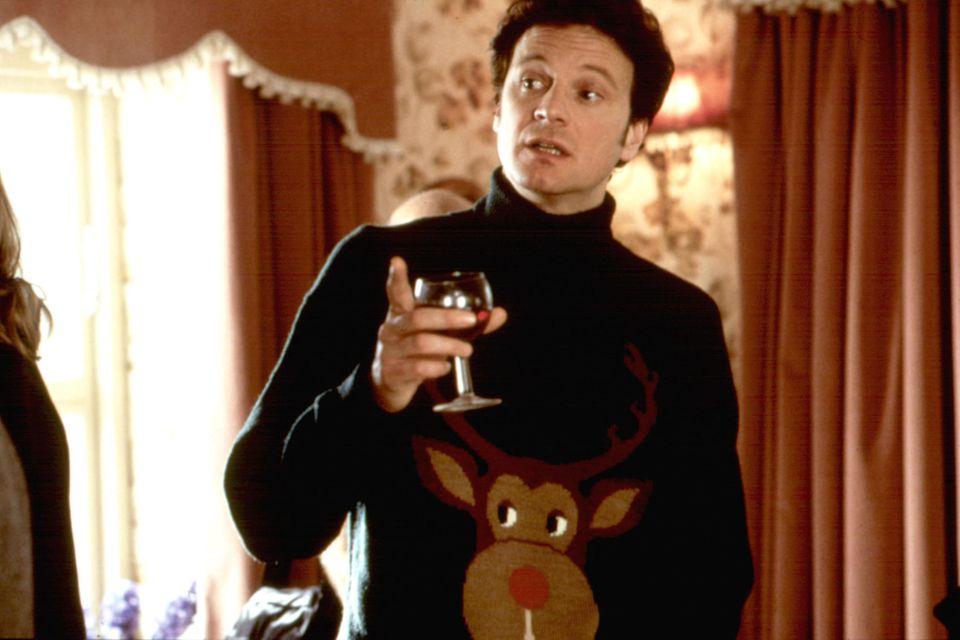 Colin Firth, hässlicher Weihnachtspullover, Ugly Christmas Sweater, Bridget Jones