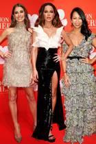 Cathy Hummels, Kate Beckinsale undMinh-Khai Phan-Thi